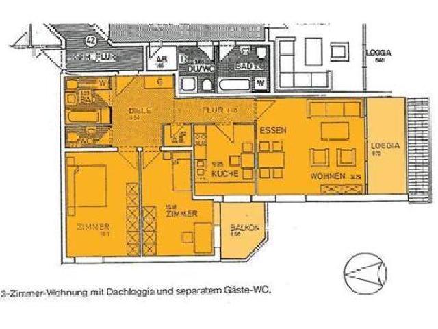 wohnung hildesheim hildesheim andreaspassage 1 studenten. Black Bedroom Furniture Sets. Home Design Ideas